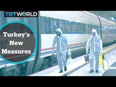 Turkey has sped into top ten most infected countries