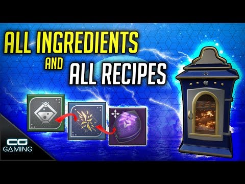 Destiny 2: The Dawning | All Eva's Holiday Oven Recipes | How To Get All Ingredients