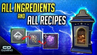 Destiny 2: the dawning | all eva's holiday oven recipes how to get ingredients