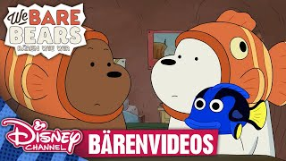 WE BARE BEARS - BÄREN WIE WIR // Clip: Bärenvideos | Disney Channel