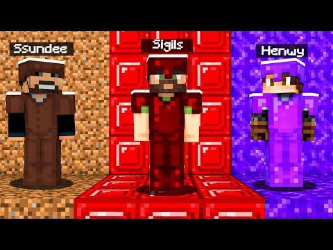 CAMO ARMOR HIDE and SEEK in Minecraft (broken)