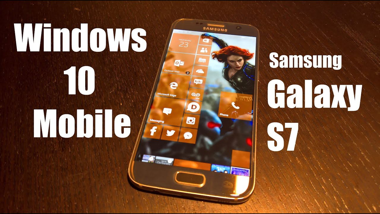 Samsung Galaxy S7 Edge Drivers For Windows 10