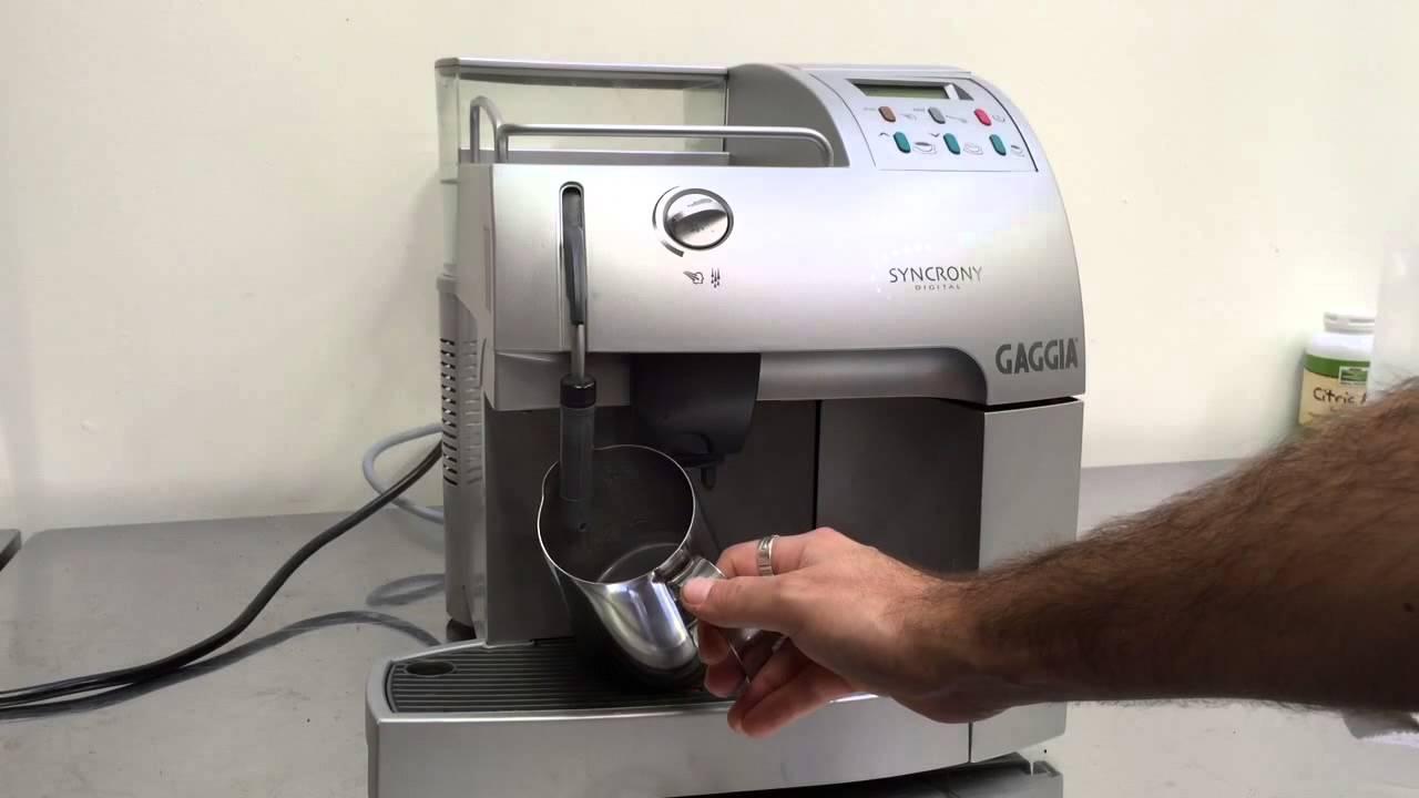 gaggia syncrony digital youtube rh youtube com gaggia syncrony digital manual pdf gaggia syncrony digital coffee machine manual