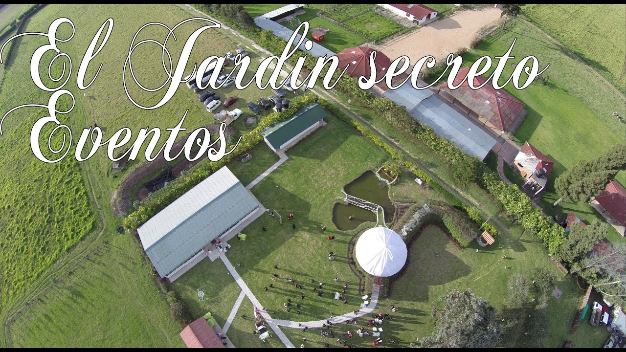 El jardin secreto por cvsproducciones youtube for Cafe el jardin secreto