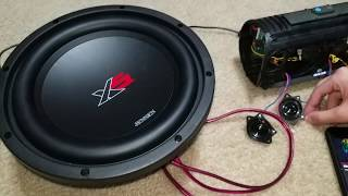 JBL Xtreme IS BACK? WITH A TWIST!   SUBWOOFER BASS TEST Low Frequency Mode + AC Mode 100% VOLUME
