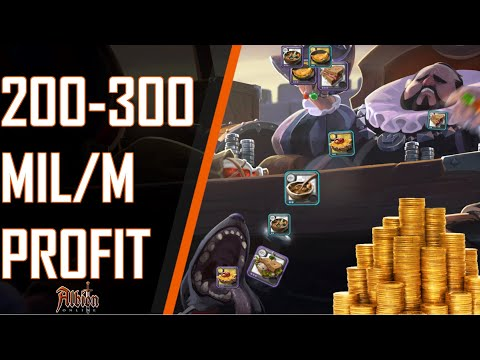 Albion Online | How To Make Money |  200-300 MIL / Month Profits - Moneymaking Guide
