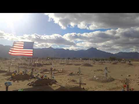St. John's Cemetery, Komatke, AZ. Gila River