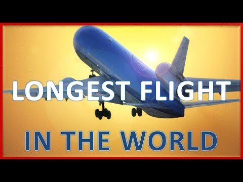 Longest flight route in the world