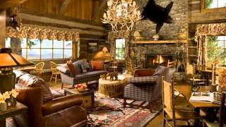 Rustic Living Room Furniture Design