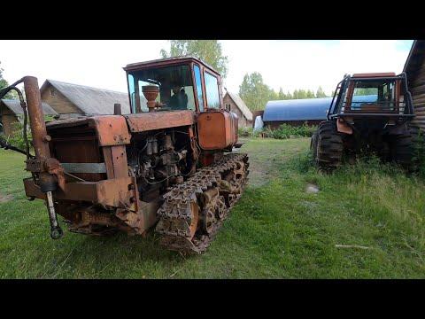 Ставим Японский V8 300 сил в советский ДТ75! Новый проект!