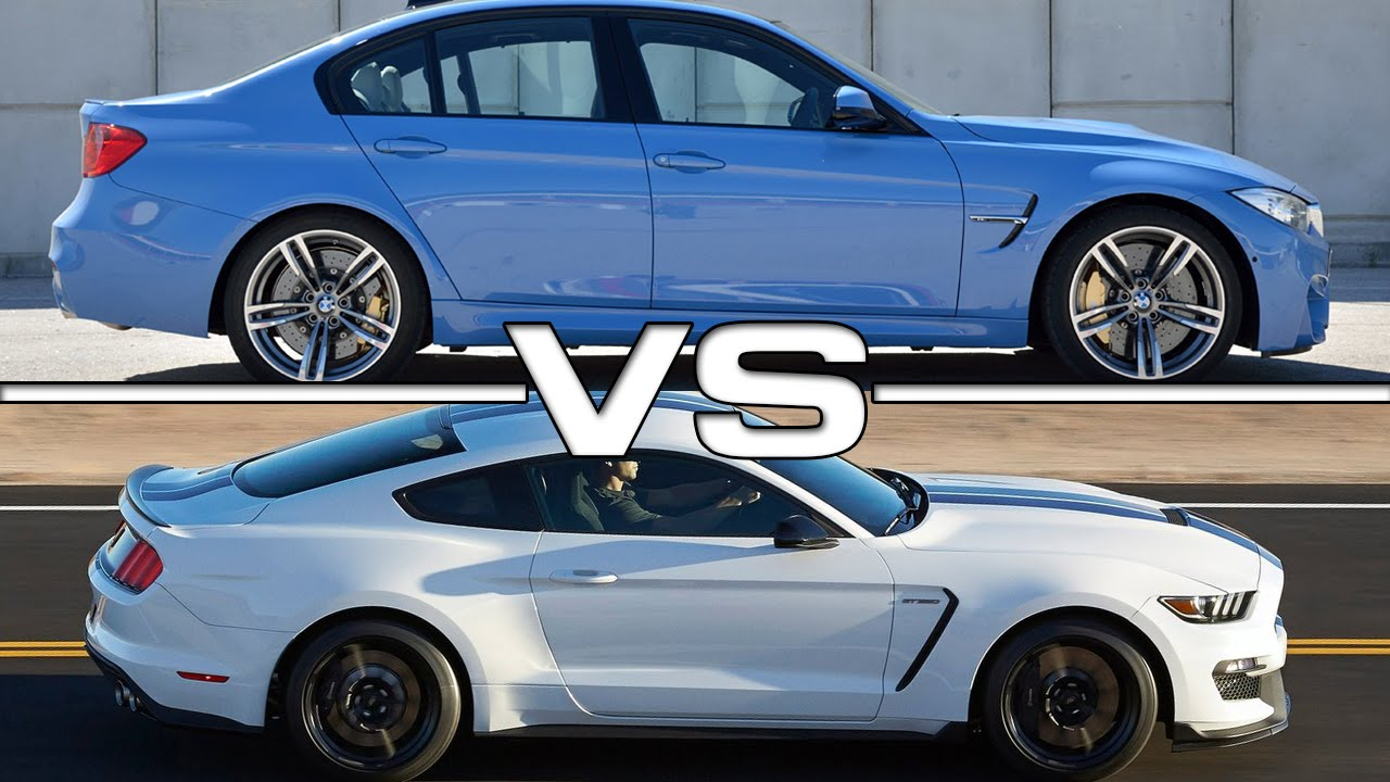 Bmw m3 vs shelby mustang gt350