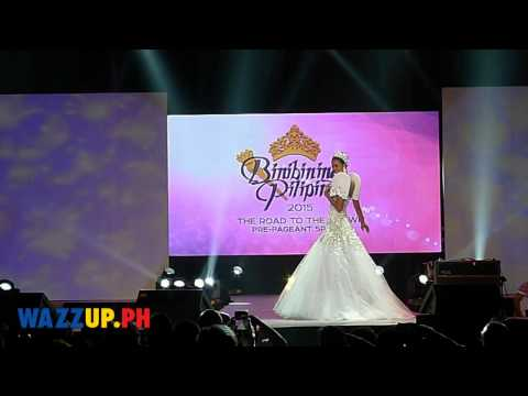 Binibining Pilipinas 2015 Fashion Show National Costume Competition Candidates 6 to 14