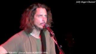 CHRIS CORNELL - Live at Teatro ROSSETTI Trieste 15.4.2016