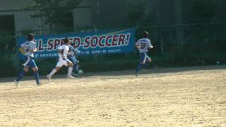なでしこジャパンを目指す、サッカー選手の映像記録。中学生が高校生を抜きさ...