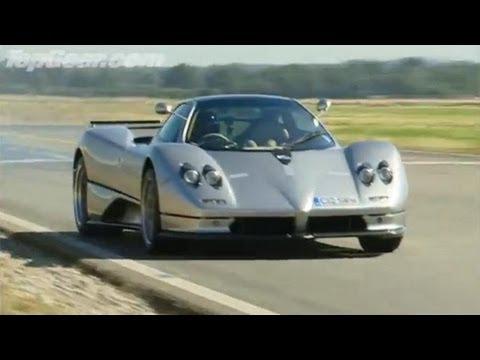 Lamborghini Murcielago vs Pagani Zonda – Top Gear – BBC