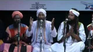 Khaibar fakir performing at India Habitat Center, Delhi.mpg