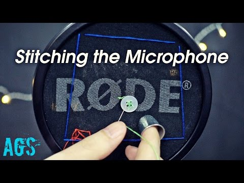 Stitching The Microphone (ASMR)(AGS)