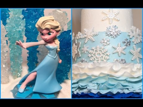 FROZEN Themed Birthday Cake Slideshow Pictures YouTube