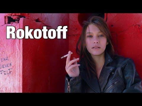 Красивая девушка в рекламе Rokotoff USA
