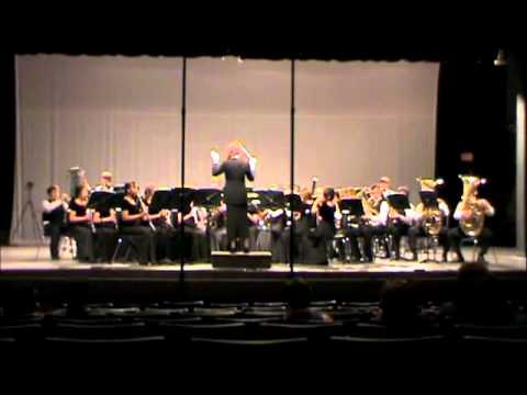LNMS Symphonic Band playing A Song of Hope  James Swearingen