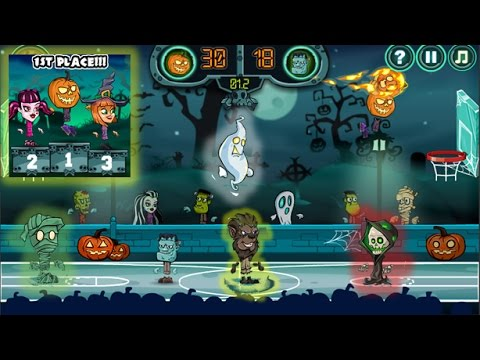 Halloween Basketball Legends Y8 Newbie Gaming Youtube