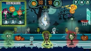 Halloween Basketball Legends |y8.com - Newbie Gaming