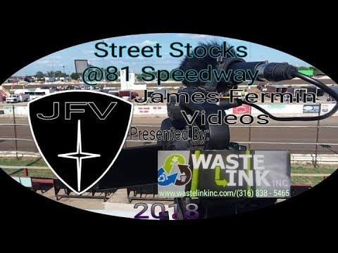 Street Stocks #15, Heat, 81 Speedway, 07/28/18