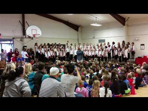 American Heart performed by Canongate Elementary School Chorus