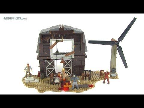 Mega Bloks Call of Duty ZOMBIE TranZit Farm set 6828 Review!