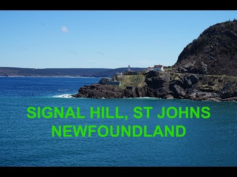 SIGNAL HILL, ST JOHNS NEWFOUNDLAND | Summer Video #6