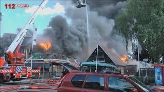 De alles verwoestende brand. (Overdinkel)