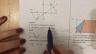 345 AYT Matematik TÜREV-2 Test-10 Anlatımlı Çözümleri (2018-2019 basım)