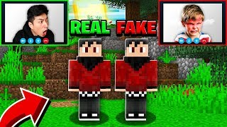 RAGEELIXIR HATER Pretends to Be ME in Minecraft! *ANGRY*