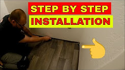 HOW TO INSTALL VINYL FLOORING