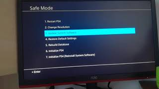 How to solve the ce-30002-5 error on the PS4 FOR REAL