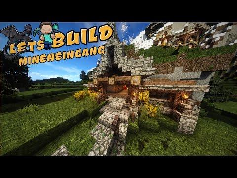 Mineneingang | Minecraft Tutorial [Haus Im Berg]