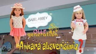Oyuncak bebeklerimle Alışverişteyiz! #2.bölüm - Our generation doll İsabel Abbey w/ Bidünya Oyuncak