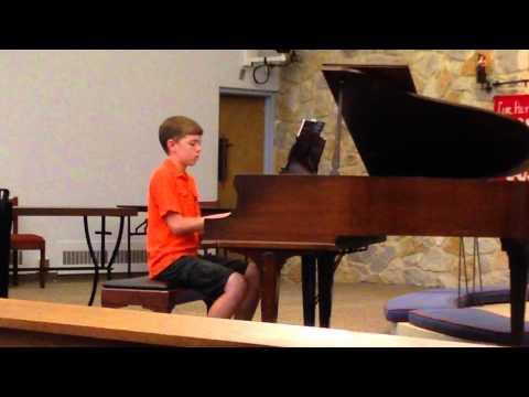 """Cole's Spring Piano Recital 2014 - """"Greek Festival"""""""