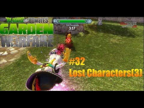 Plants Vs Zombies : Garden Warfare - #32 - Lost Characters (3)