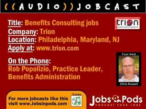 JOBCAST: Benefits Consulting Jobs at Trion