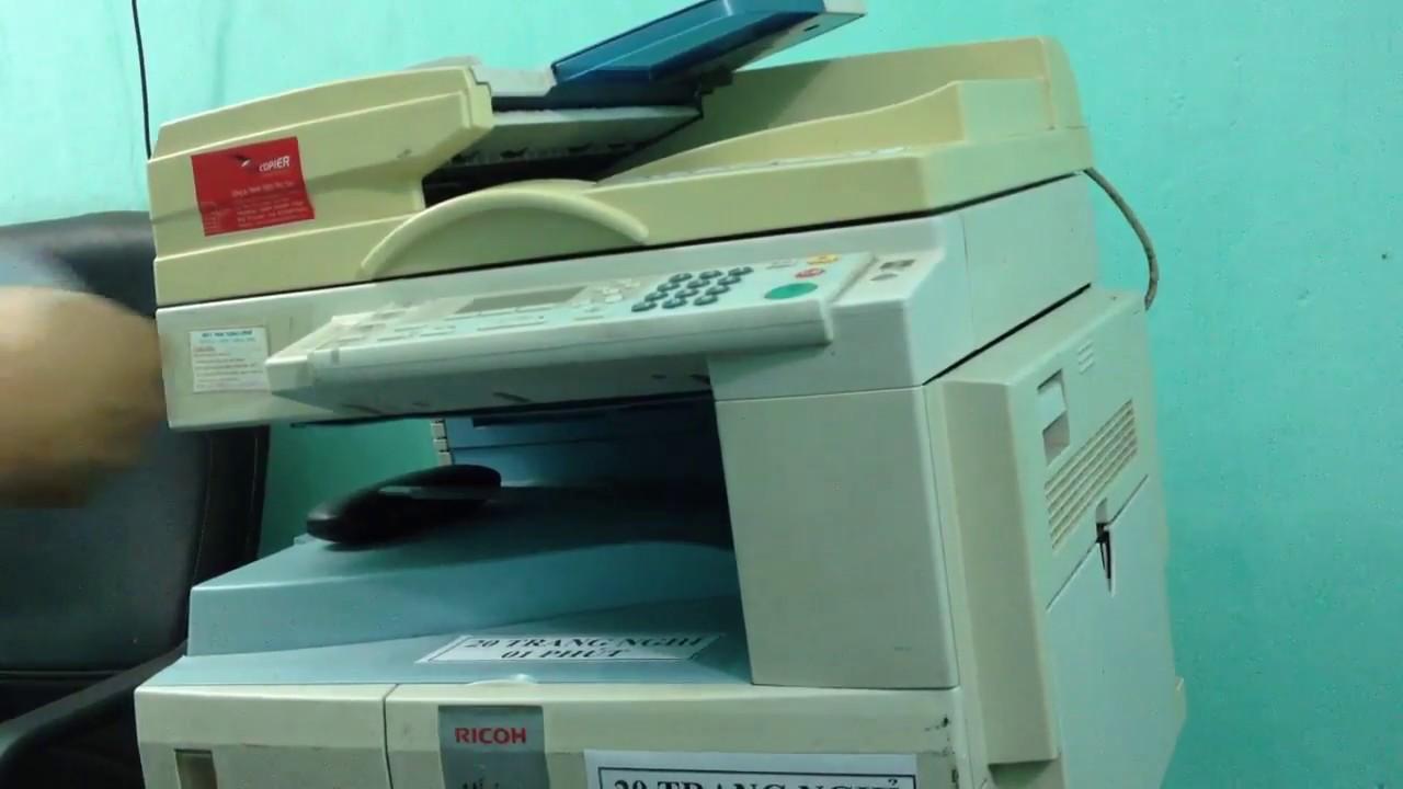 Hướng dẫn scan bằng máy photo Ricoh – Thao tác trên máy tính Win 7 và  Foxit reader