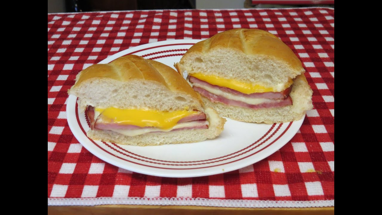 Ham and Cheese Sandwich Easy Toaster Oven Recipe