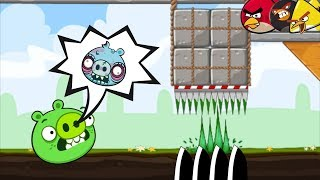 Crush Bad Piggies - ANGRY BIRDS TRAPPING EVERY BAD PIGS