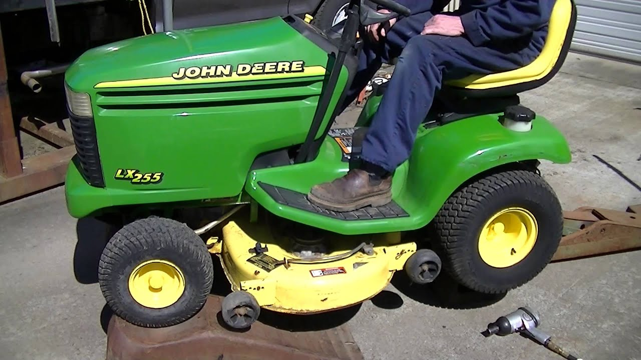 John Deere Lx255 Mower Deck Test 2