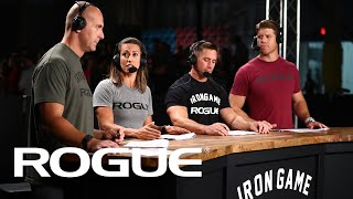Rogue Iron Game - Live from CrossFit 20.1 Open Announcement