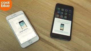 Hoe zet ik data over van mijn oude iPhone naar mijn nieuwe iPhone?