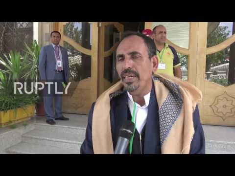 Yemen: UN Yemen Envoy arrives in Sana'a amid anti-UN protests demanding airport reopening