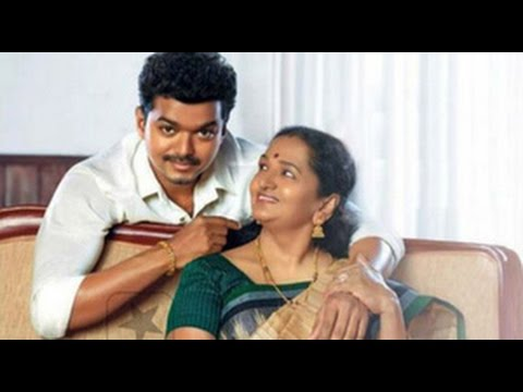 Does Vijay fulfill his mother Shoba Chandrasekhar wishes?