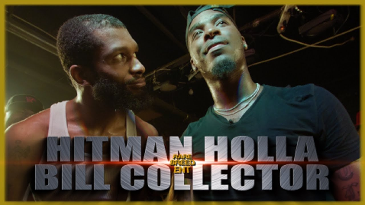 Download HITMAN HOLLA VS BILL COLLECTOR CLASSIC RAP BATTLE - RBE