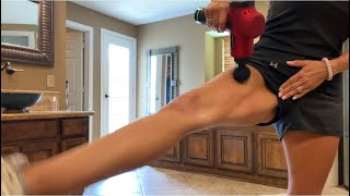 *EXTREMELY SaTiSfyInG* massage gun *TRIGGER POINT RELEASE* by Tricia Grace